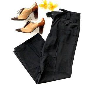 Ann Taylor Black Mango Curvy Dress Pants